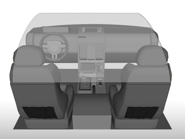 plexiglass taxi